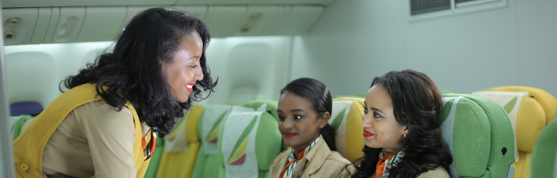 Ethiopian Flight Attendant